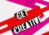 Design Creative Banner, Logo, Flyer Business Card