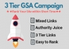 3 Tier Gsa Backlinks With Niche Relevant Content To Rank Higher