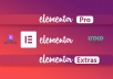 Install Elementor Pro, Astra Pro And CrocoBlock Lifetime Usable