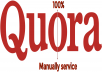 High Quality 5 Quora Answer posting with your keyword And Url