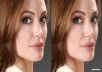 Retouch Any Image very fast