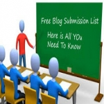 I will give you a list of 140 Blog submission websites