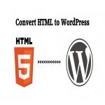HTML to WordPress Convert on Dynamic Website
