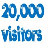 send you 20000 real visitor to your site