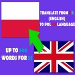 Translation from ENGLISH to POLISH