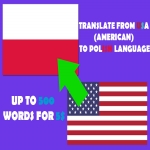 Translation from AMERICAN to POLISH for 5
