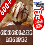 I will give You 600 DELICIOUS Chocolate Recipes