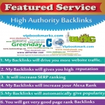 40+ Bookmark and Dofollow Backlink with Google Index Pr2 to PR7