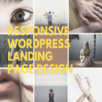 Create a responsive design landing page with WordPress for your business needs