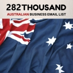 australia Business Database 282k With Email List and full details