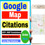 Do 100 Live Google Map Citations Local Business Listing
