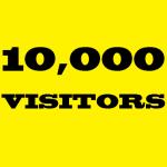 10000 High Quality REAL HUMAN VISITORS
