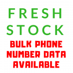 1000 Targeted Phone Number Data From Social Media