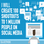100 Organic Shoutouts to 1 MILLION Real People with Custom Video Creation to boost your rank