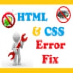 fix any HTML,  CSS bugs