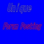 CREATE 35 high quality forum posting link