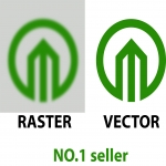Redraw/trace or vectorize you logo/image profesionally