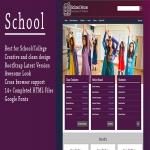 School - Responsive Bootstrap HTML5 Template