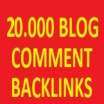 20.000 BLOG COMMENTS backlinks