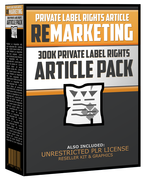 I want Traffic to my Website for 300k plr articles