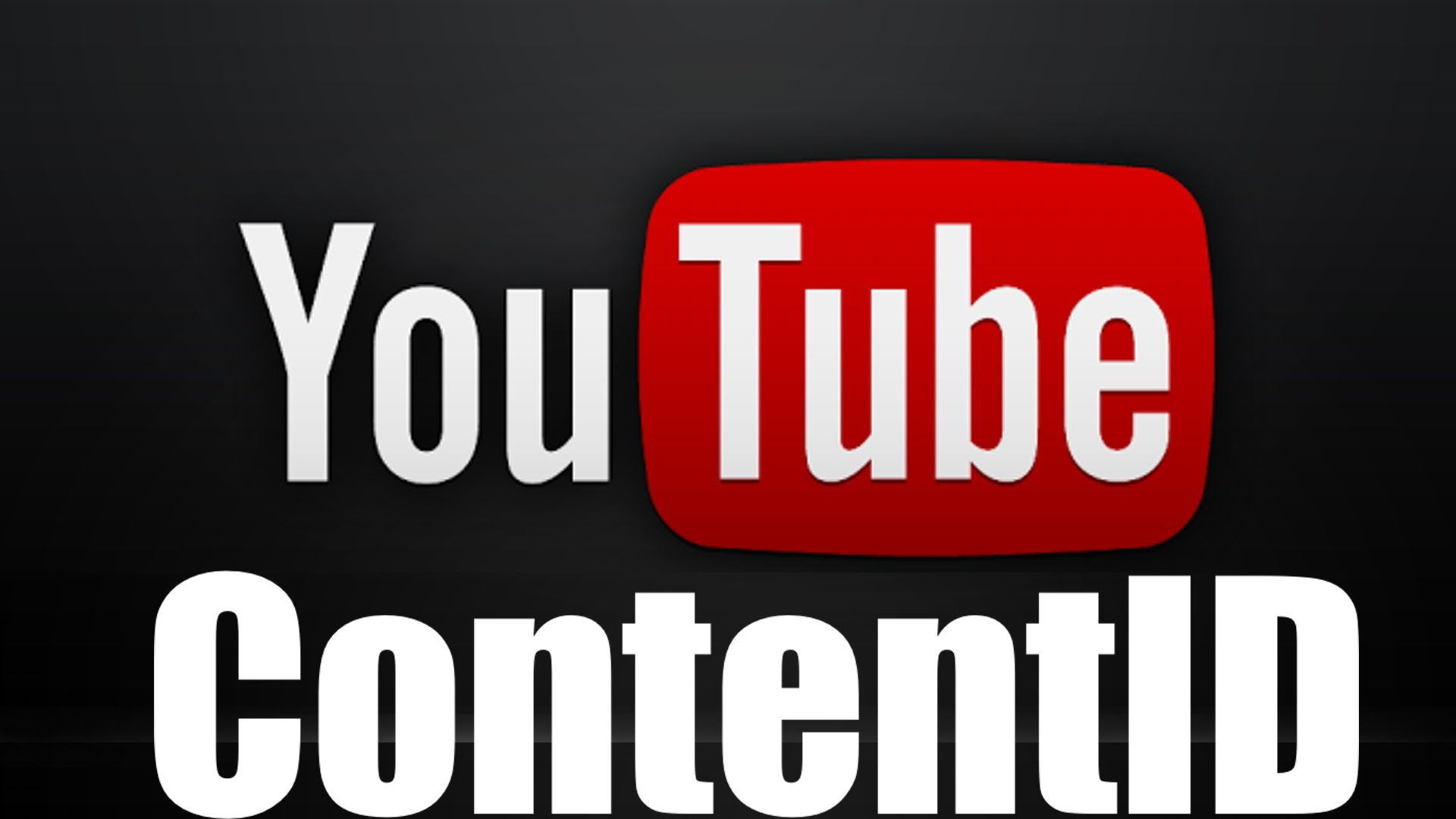 Youtube Chnl With Content ID