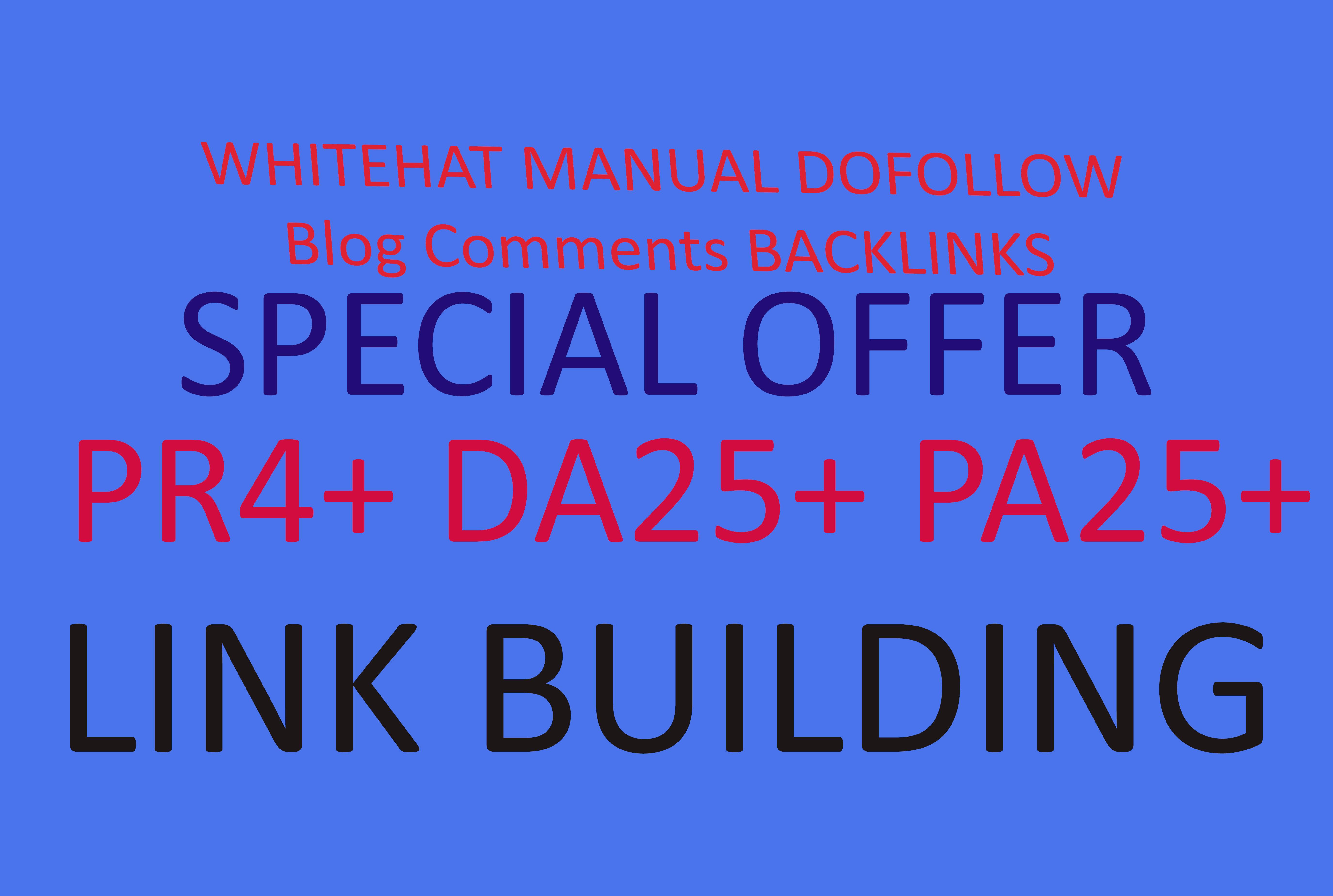 Provide 50 High PR DA PA Backlinks Only 5$ for your website