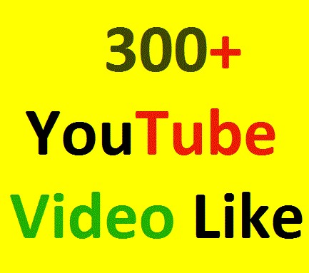400+YouTube video like Very fast only for $1