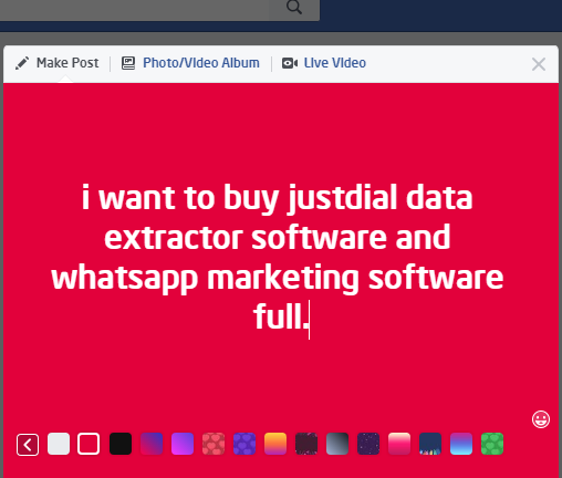 i want to buy justdial data extractor software and whatsapp marketing software full.