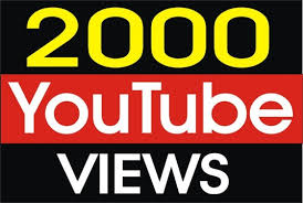 2000 youtube views just for 8$