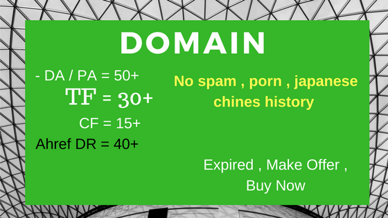 I need a domain good seo