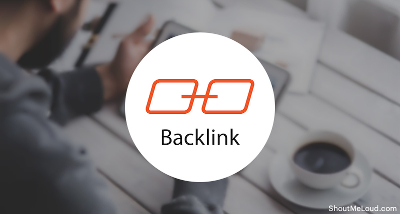 BackLink share with blog post