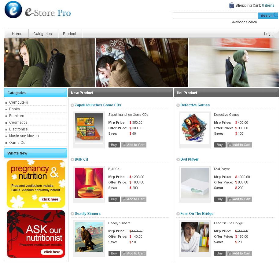 I want somebody to create my ecommerce affiliate store on wordpress