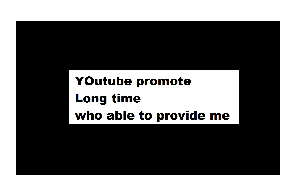 I need help to promote youtube channel