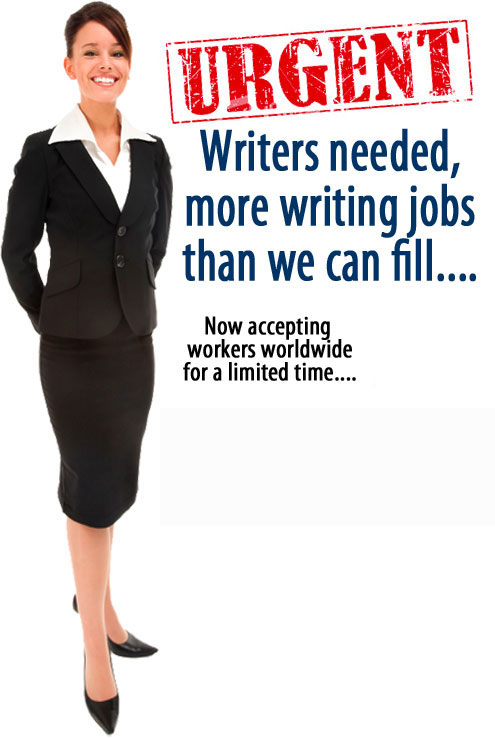 real writing job get 200  a day at least