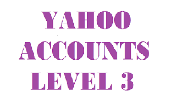 I want Level 3 yahoo answer account urgent