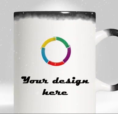 create a video about color changing mug