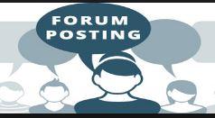 Hiring forum posters  - long term job