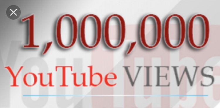 A million YouTube views