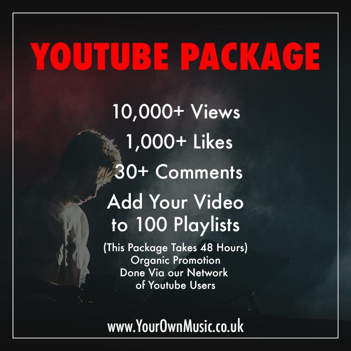 10,000 You tube Vie ws 1000 lik es