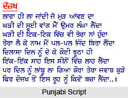 Some Medical terms Translation From English to Indian Punjabi Script