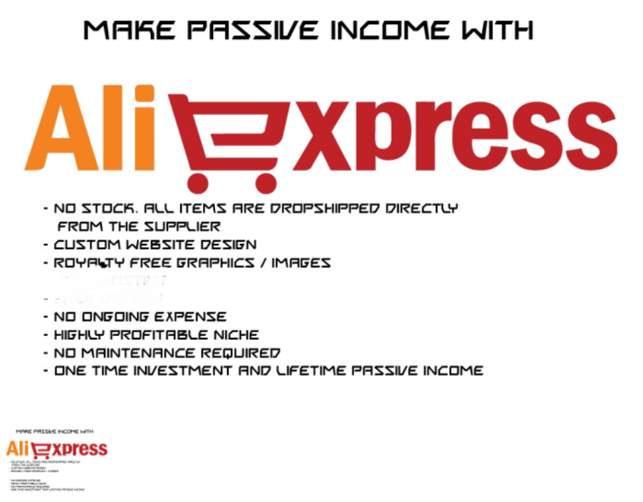 I Will Make An Aliexpress Dropshipping Site With 50 Profitable Niche Products