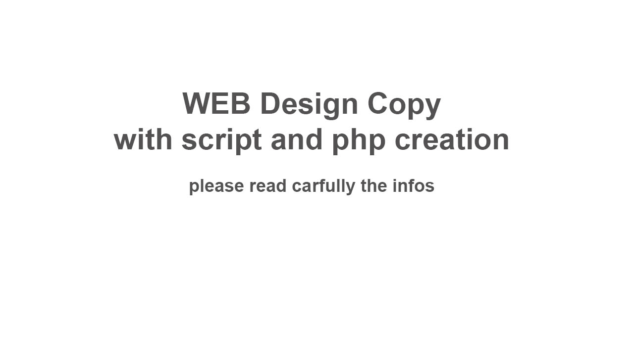 PHP Script and programmer with web design experience needed !!