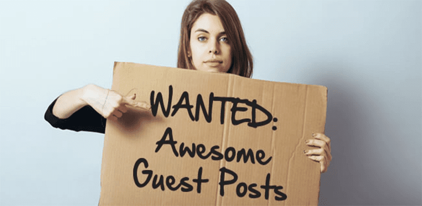 I need place guest post on authority sites with link to my site