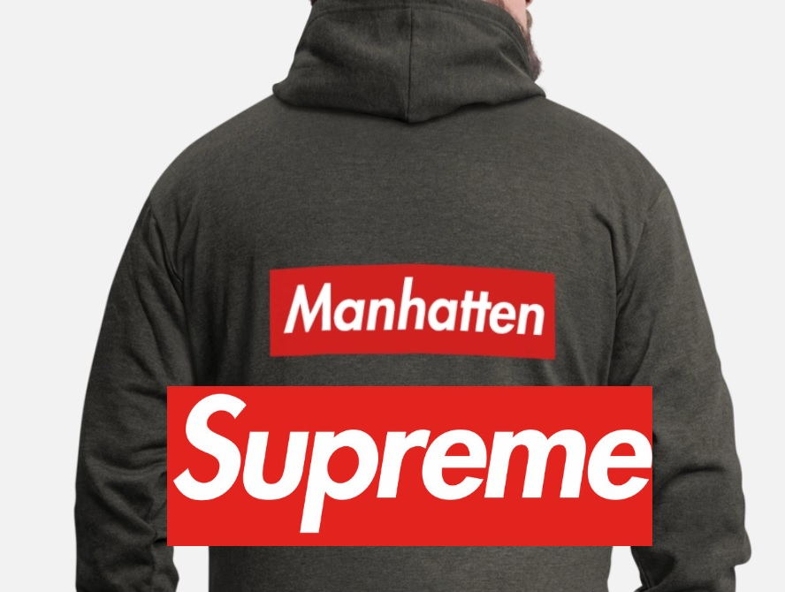 T-shirt Design editable supreme